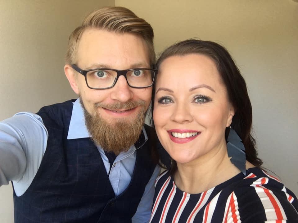 Heidi Pakarinen ja Sami Hopponen