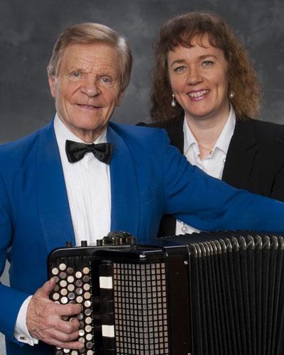 Veikko Ahvenainen ja Carina Nylund