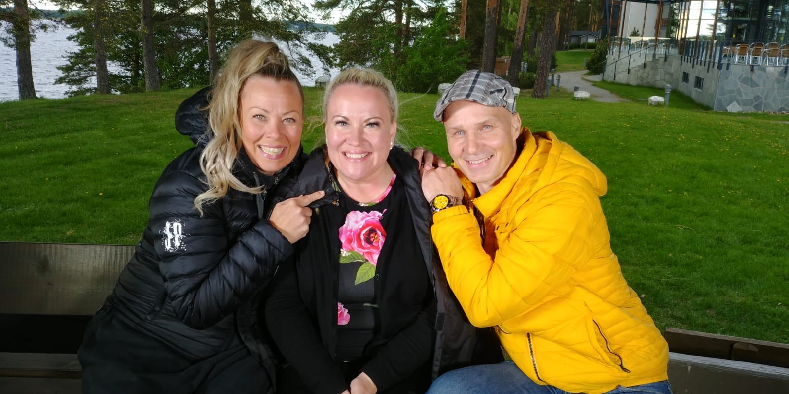Johanna Pakonen, Taina Kokkonen ja Marko Maunuksela